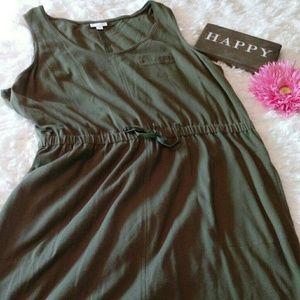 J.Jill sleeveless jumper dress size L